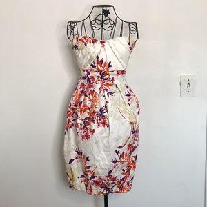 Torrid Floral Strapless Summer Dress